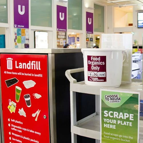 University of Melbourne Recycling