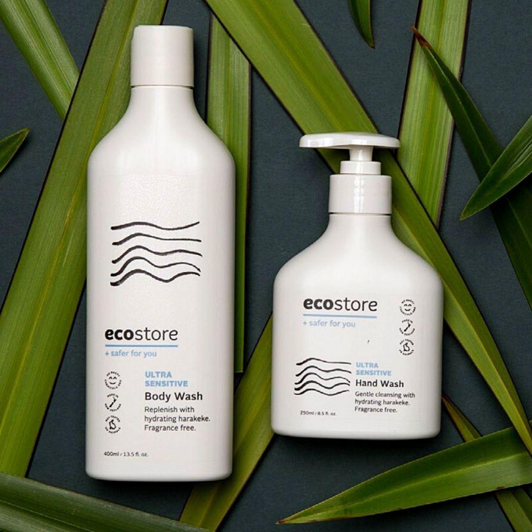 ecostore Ultra Sensitive Body Wash & Hand Wash