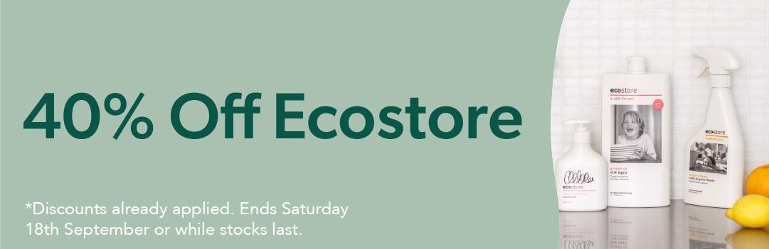40% Off Ecostore