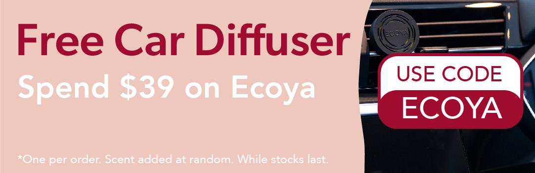 Free Car Diffuser from ECOYA