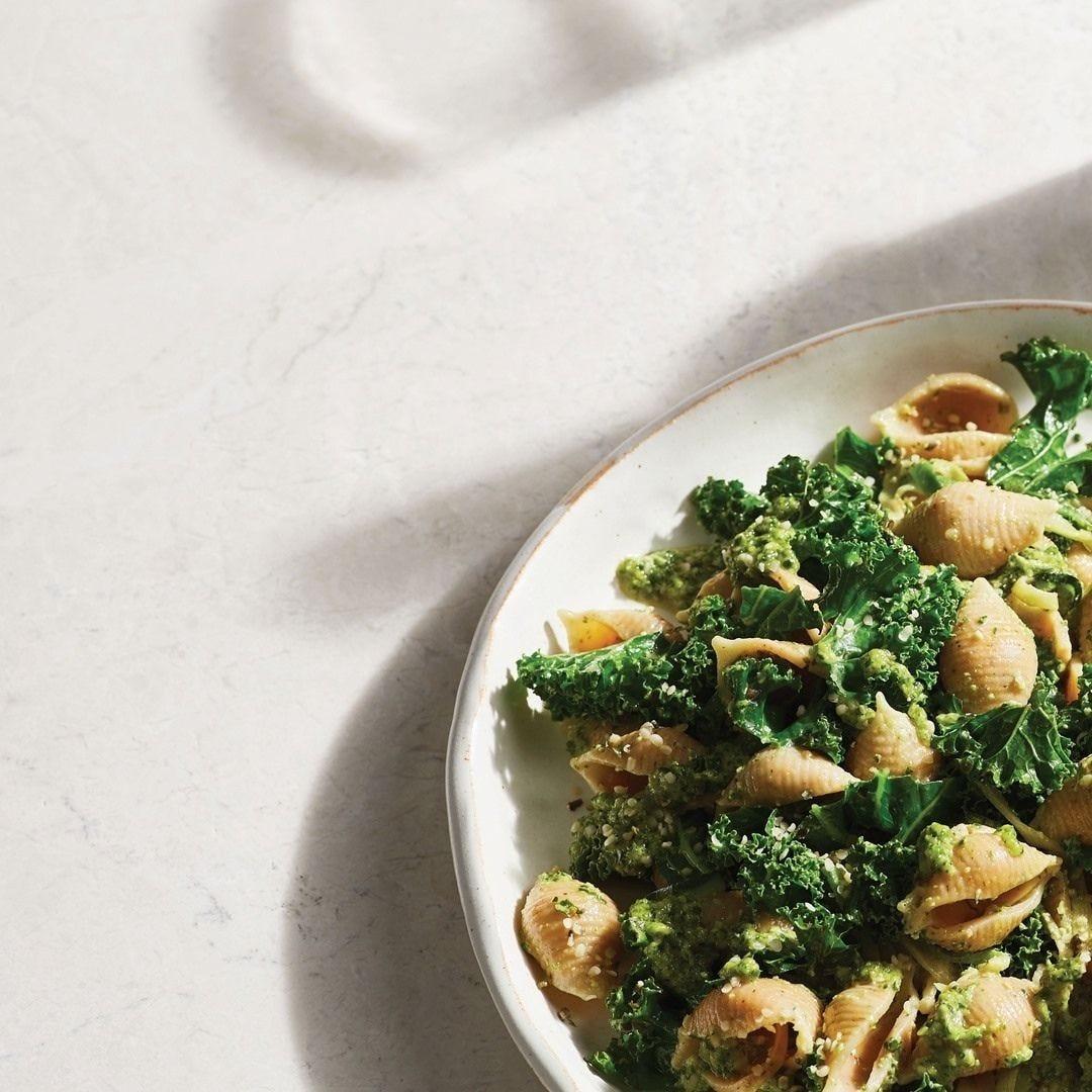 Hemp & Kale Pesto Pasta