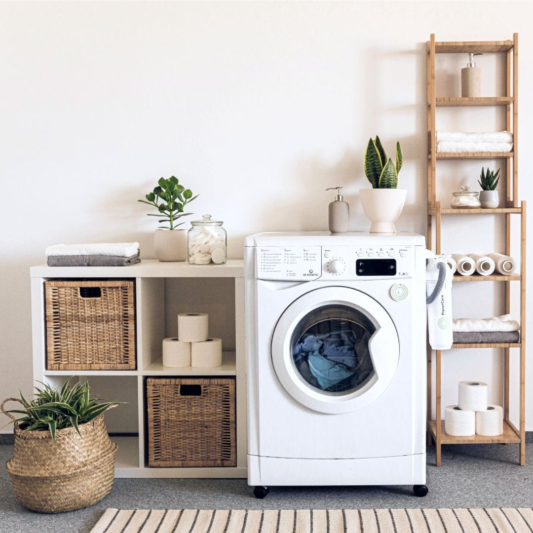 Laundry Spring Clean
