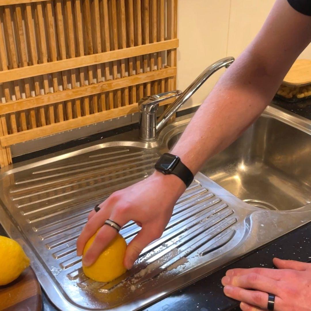 Lemon & Salt Sink Cleaner