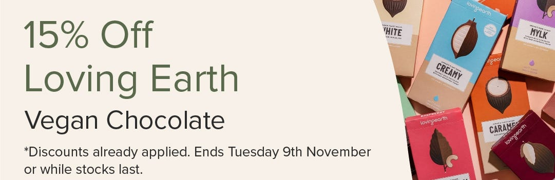 15% Off Loving Earth