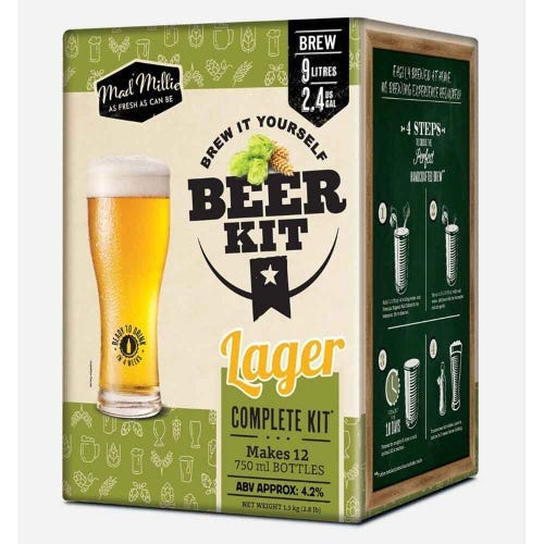Mad Millie Brew it Yourself Lager Kit