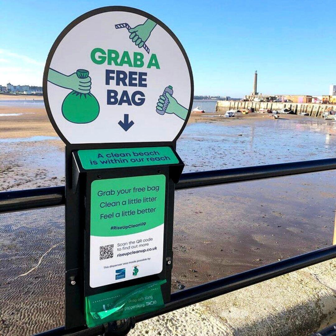 Margate Free Beach Litter Bags