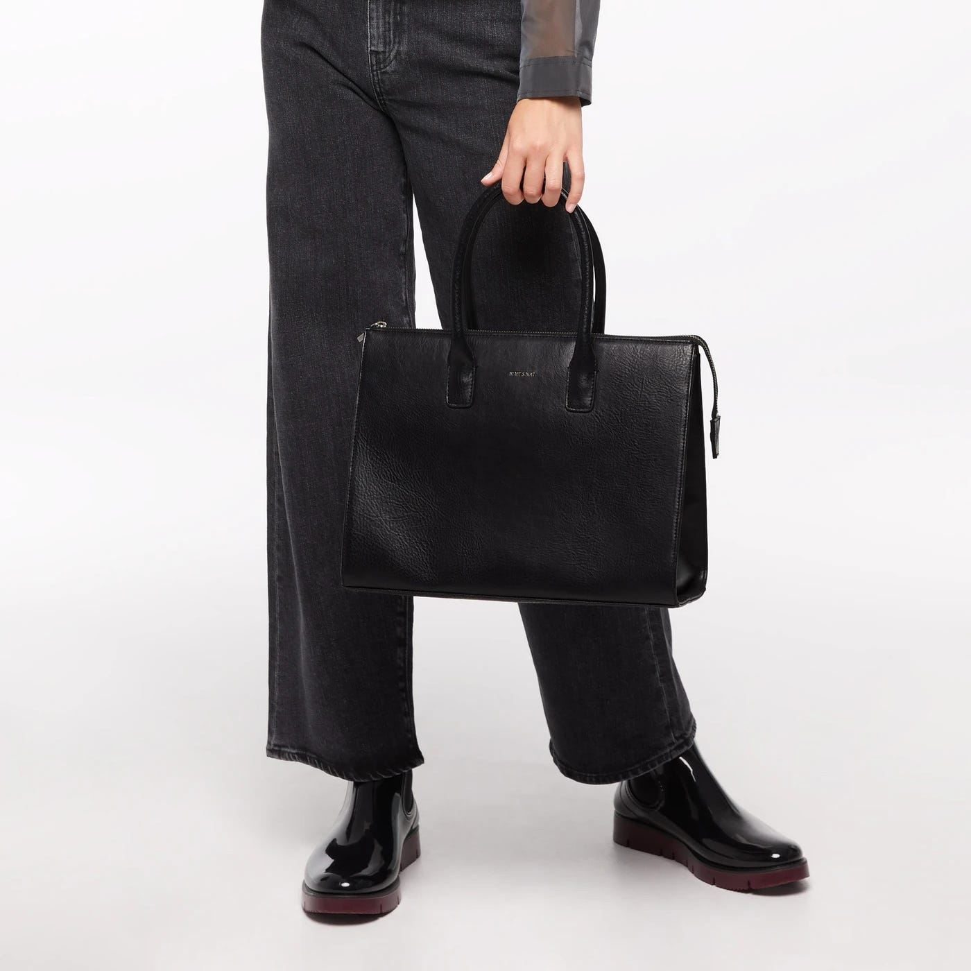 Matt & Nat Aspen Satchel Bag - Black