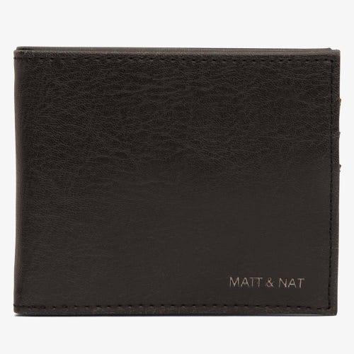 Matt & Nat Rubben Men's Wallet - Black