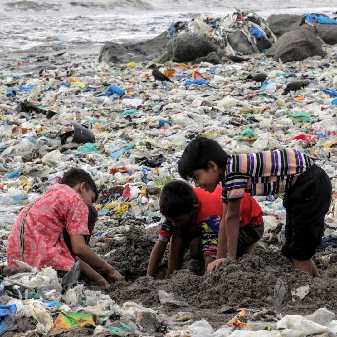 Mumbai Plastic Pollution