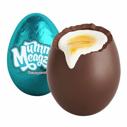 Mummy Meagz Vegan Chuckie Egg
