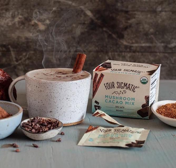 Four Sigmatic Mushroom Hot Cacao Mix Reishi (10 Sachets)