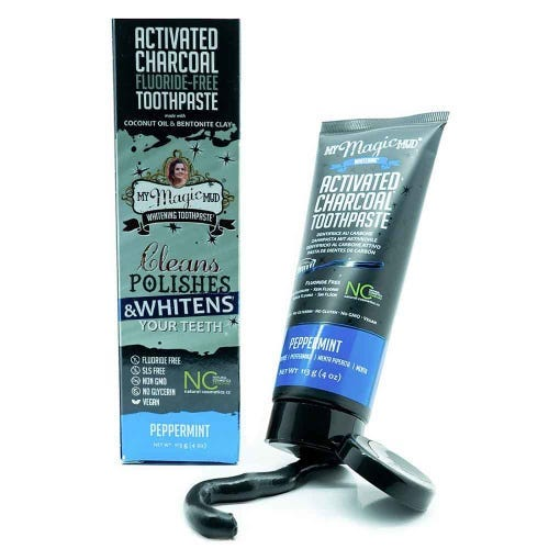 My Magic Mud Charcoal Toothpaste Peppermint (113g)