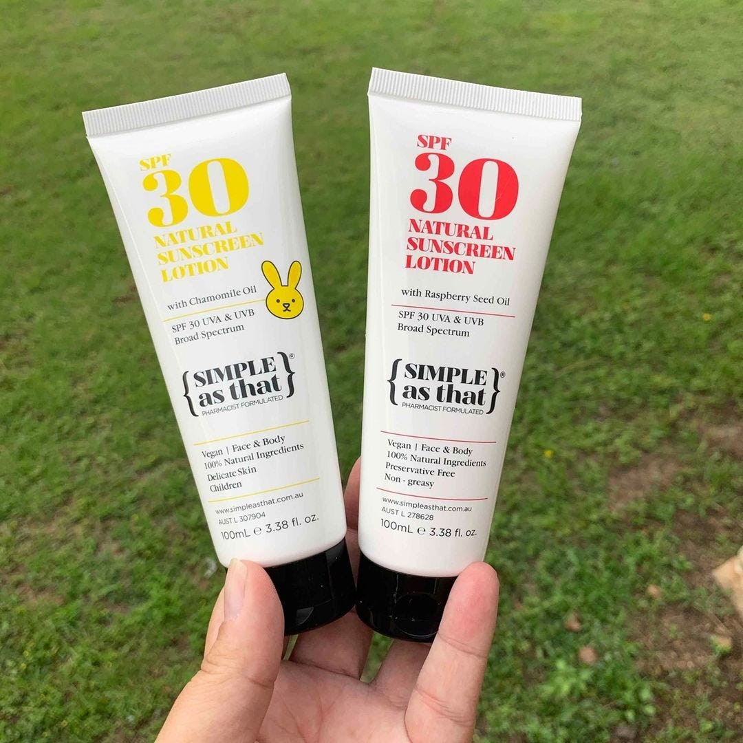 Simple As That Sunscreen