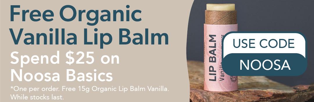 Free Vanilla Lip Balm