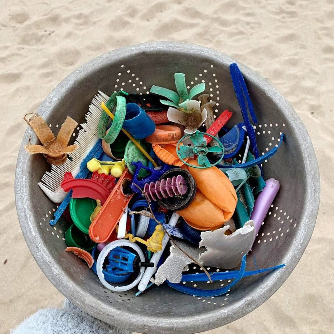 Ocean Plastic - Image by The Trashy Collection
