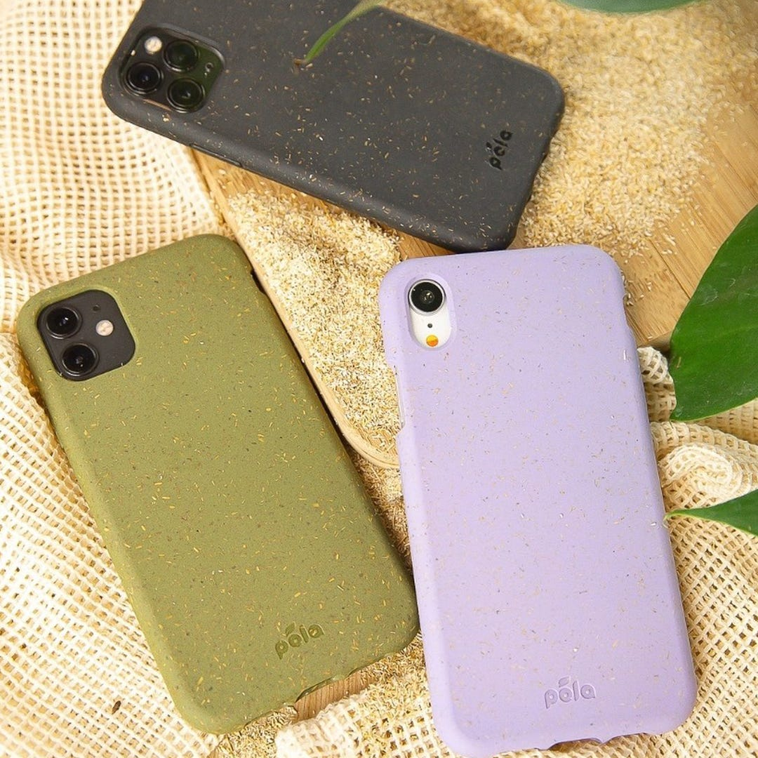 Pela iPhone cases