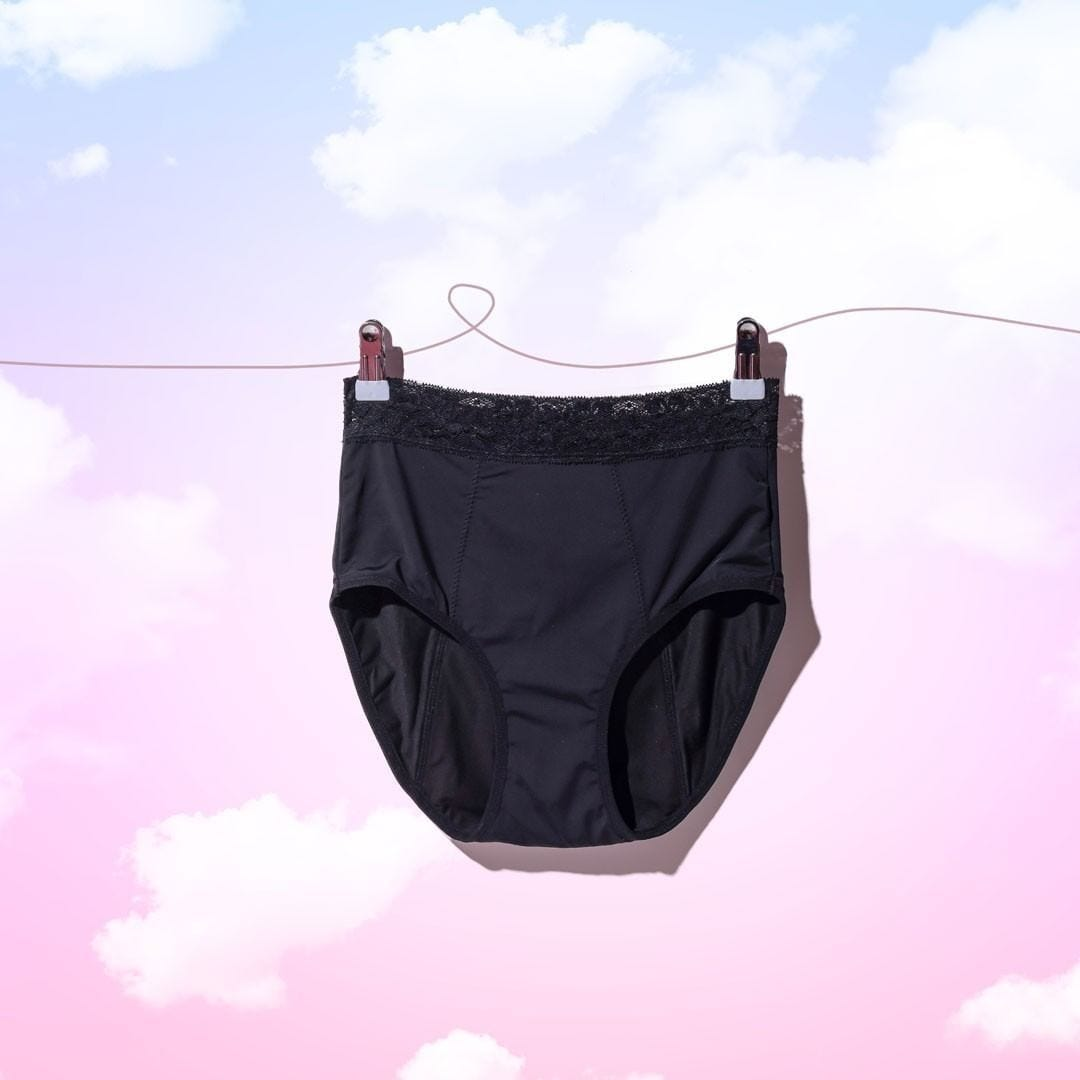 Pelvi Leakproof Underwear Full Brief - Black