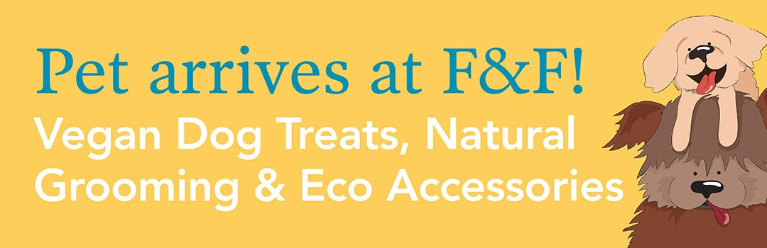 Vegan Pet Treats & Grooming | Flora & Fauna Australia
