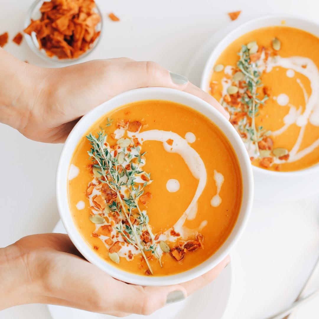 Vegan Pumpkin Soup Recipe
