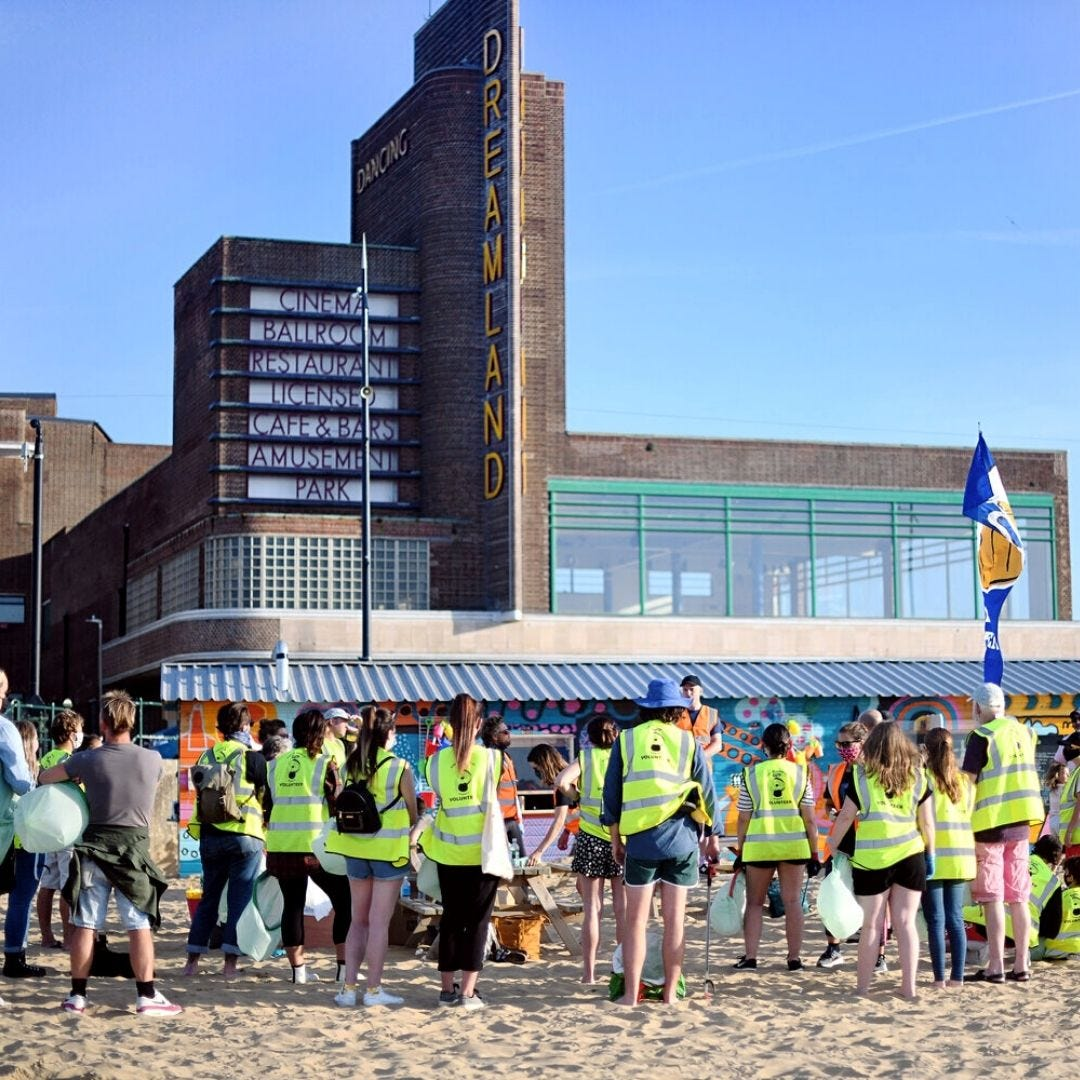 Rise Up Clean Up Margate Volunteers