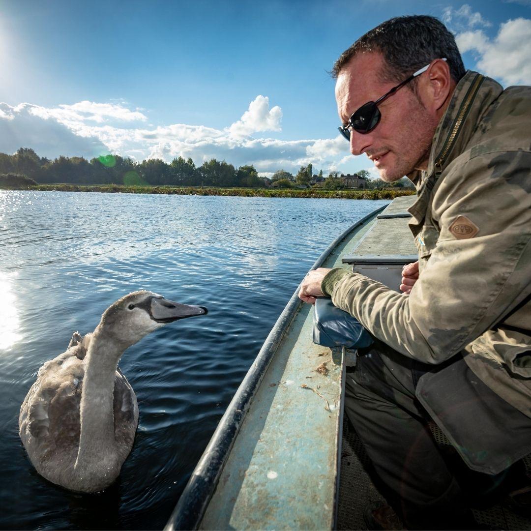 Rob Adamson the Swan Man