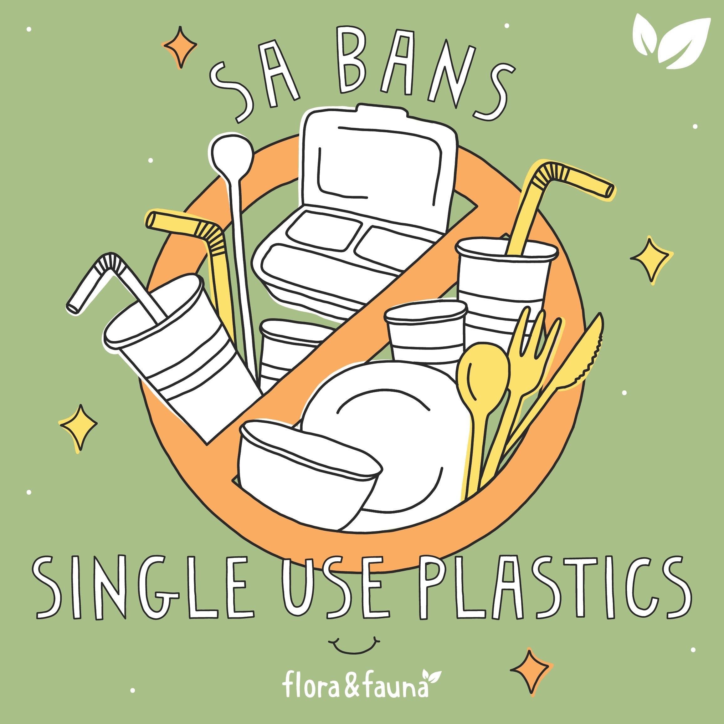SA bans single use plastic
