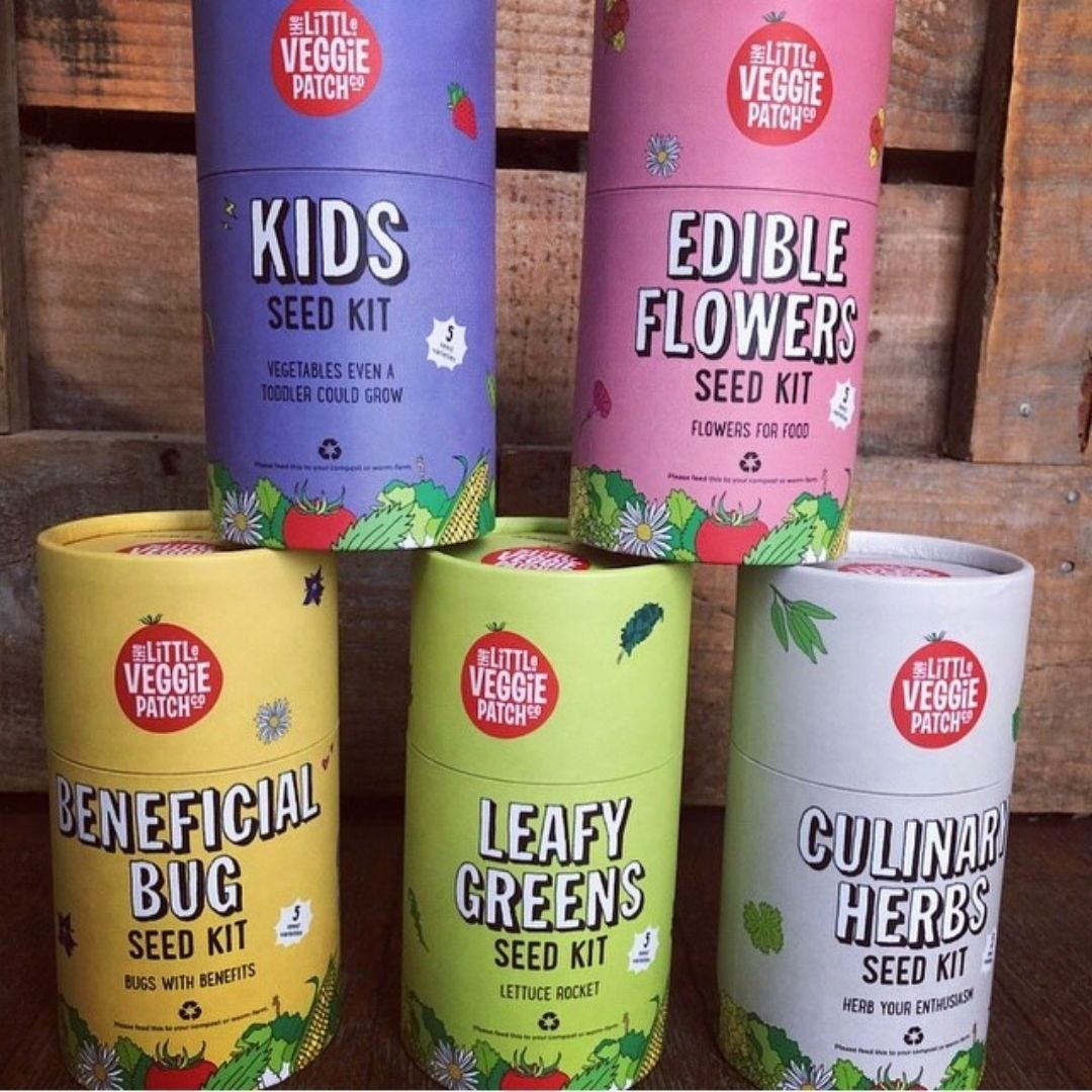 The Little Veggie Patch Co Seed Kits
