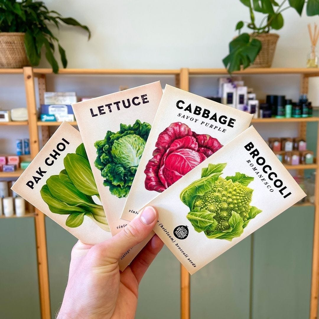 The Little Veggie Patch Co Seeds