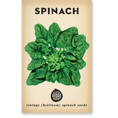 The Little Veggie Patch Co - Spinach Heirloom Seeds