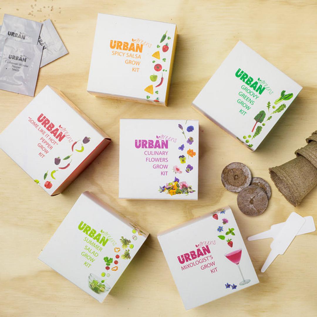 Urban Greens Grow Kits