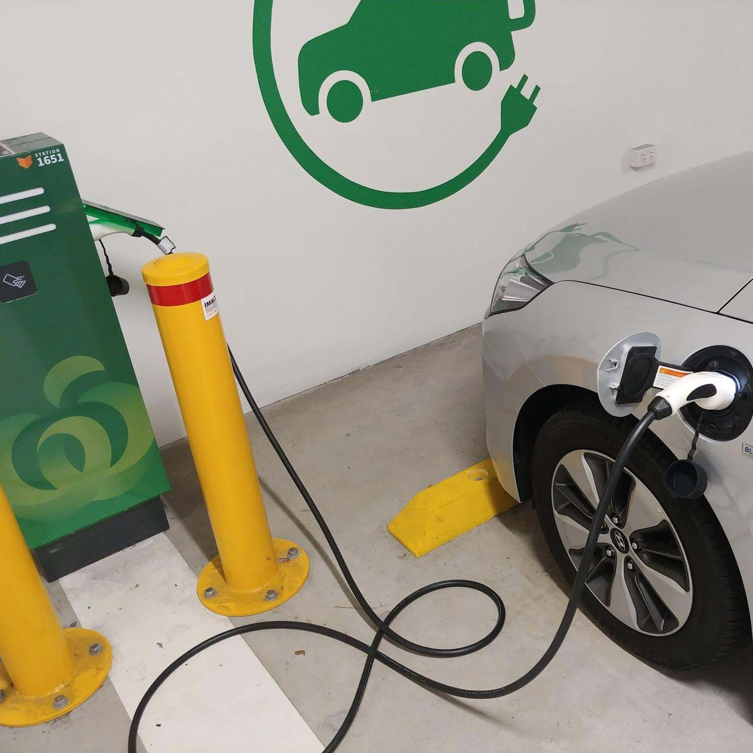 Where can you charge your electric car in Australia?