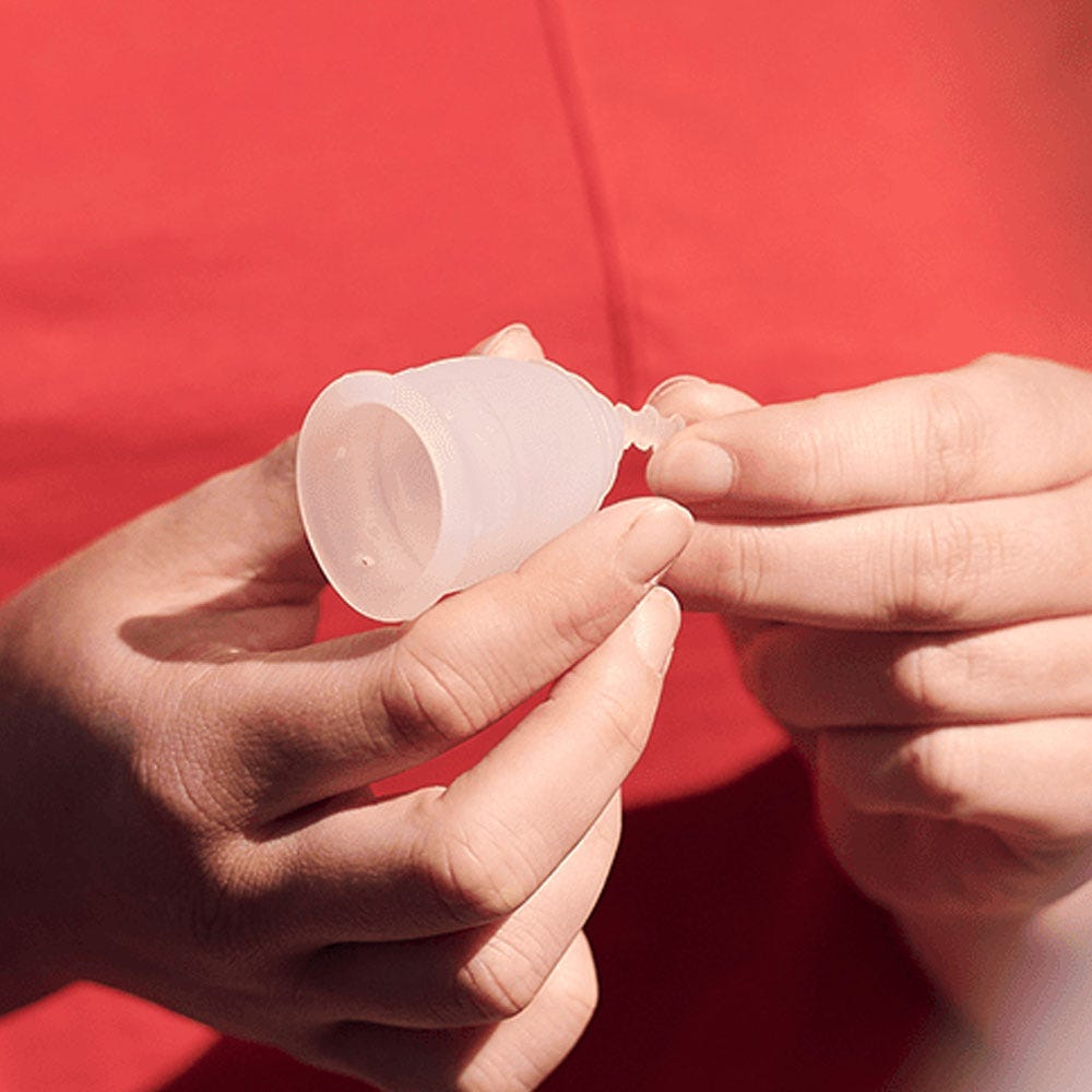 Switch to a menstrual cup
