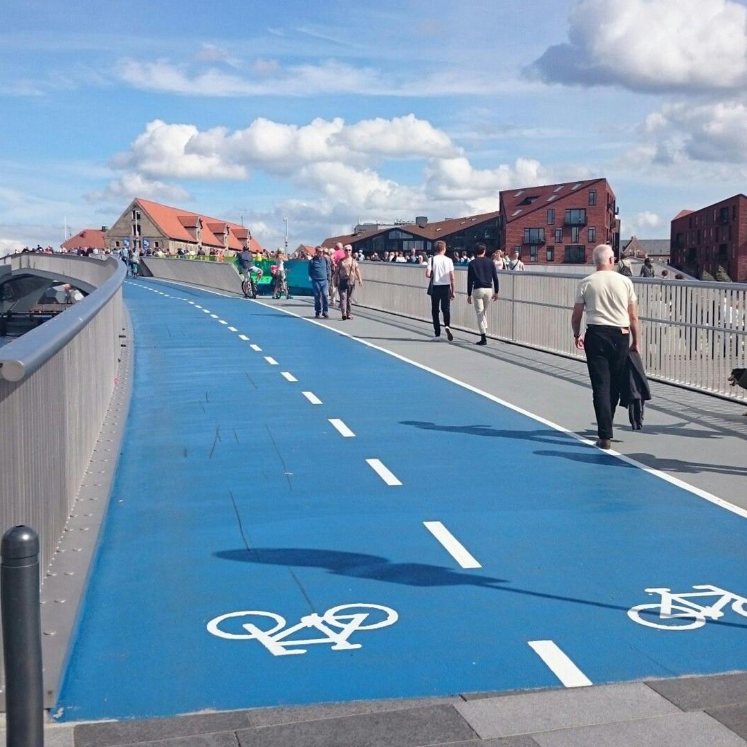 Cycling Lane Copenhagen