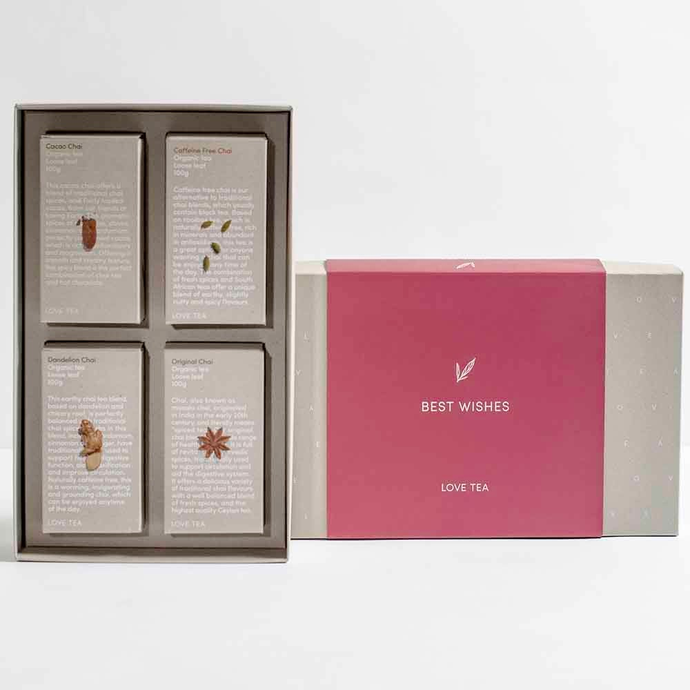 Love Tea - Best Wishes Chai Collection Gift Pack