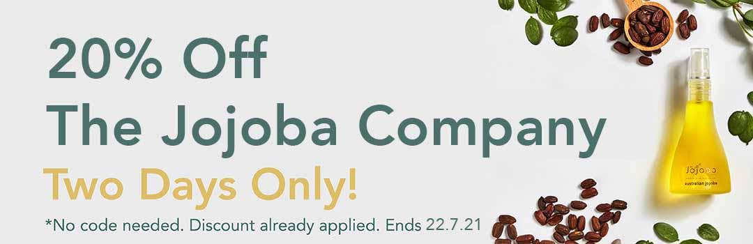 20% Off The Jojoba Company