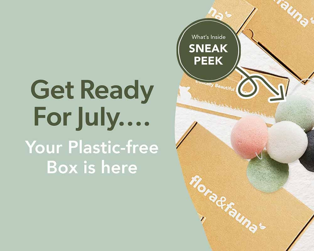Your Plastic Free Beauty Box is Here
