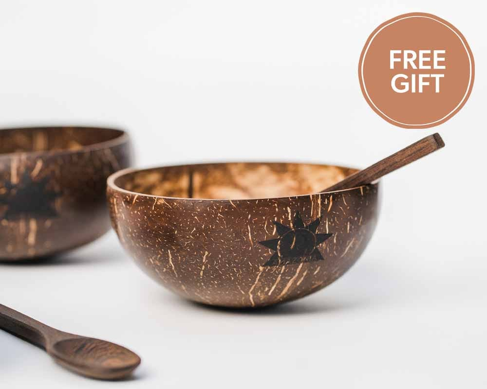 Free Coconut Bowl