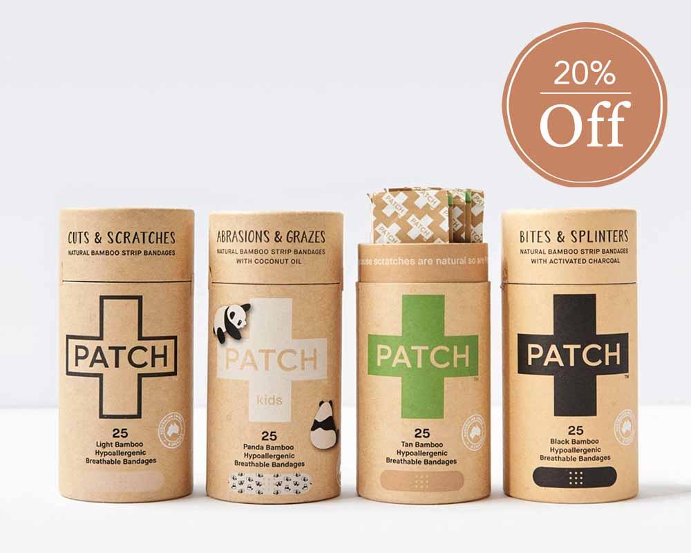 20% Off Patch Bandages