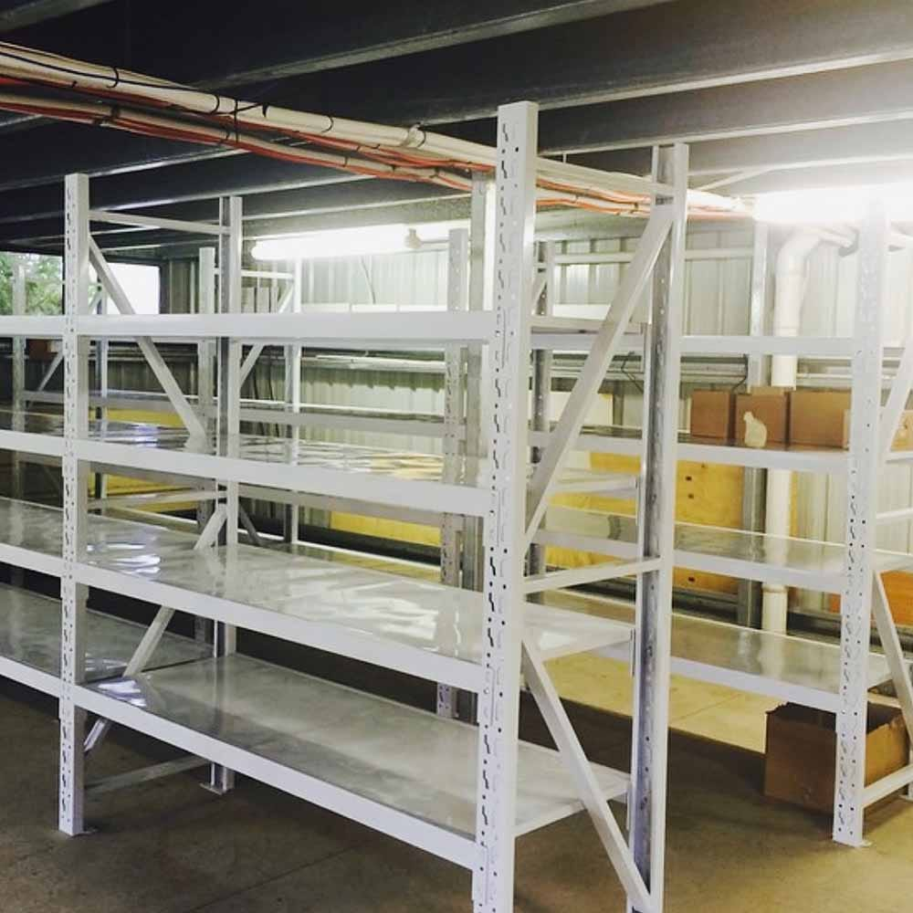 The First Two Shelves in the First F&F Warehouse
