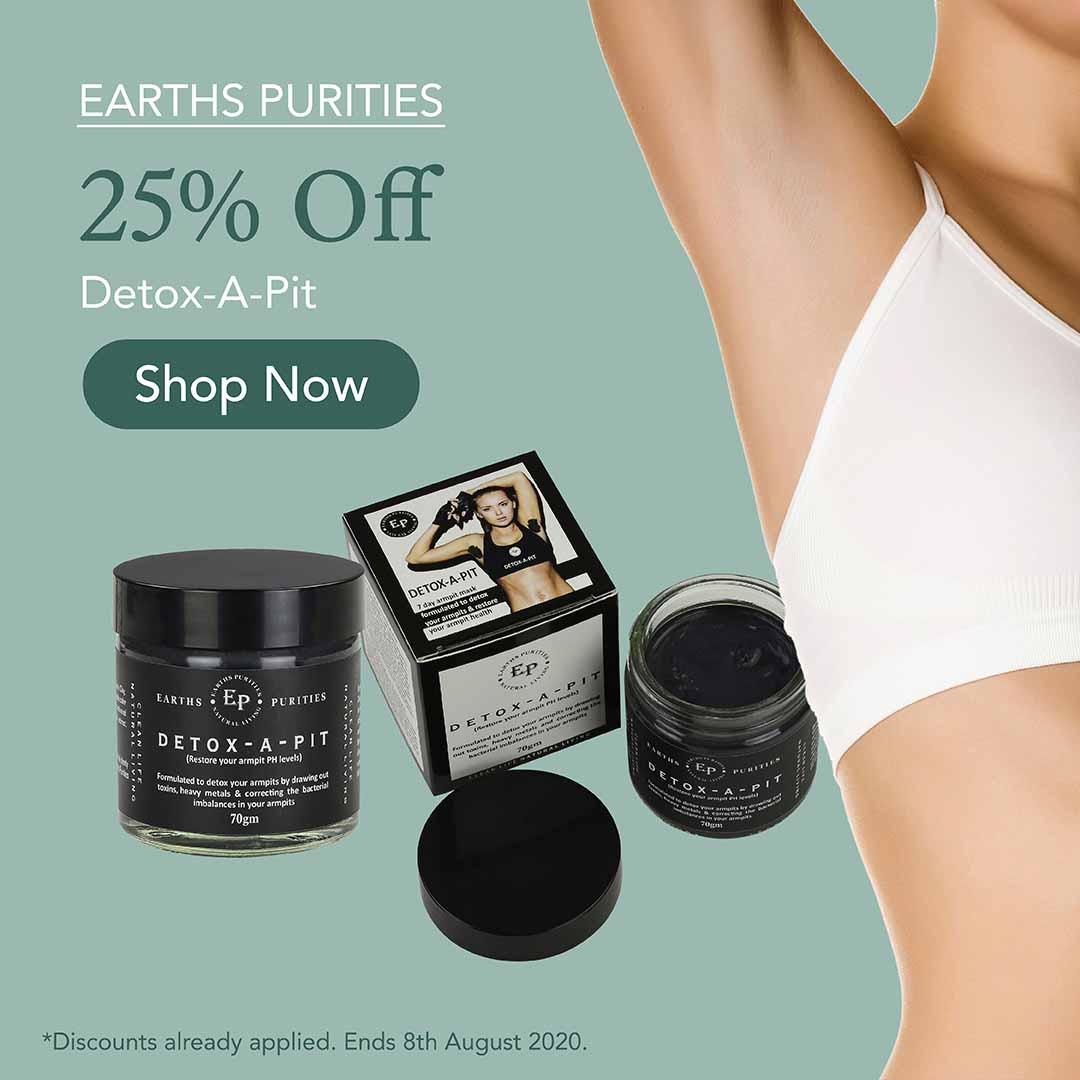 25% Off Detox-A-Pit