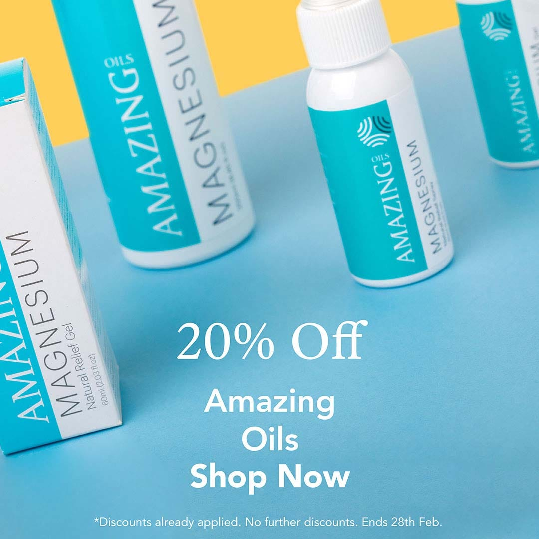 20% Off Amazing Oils