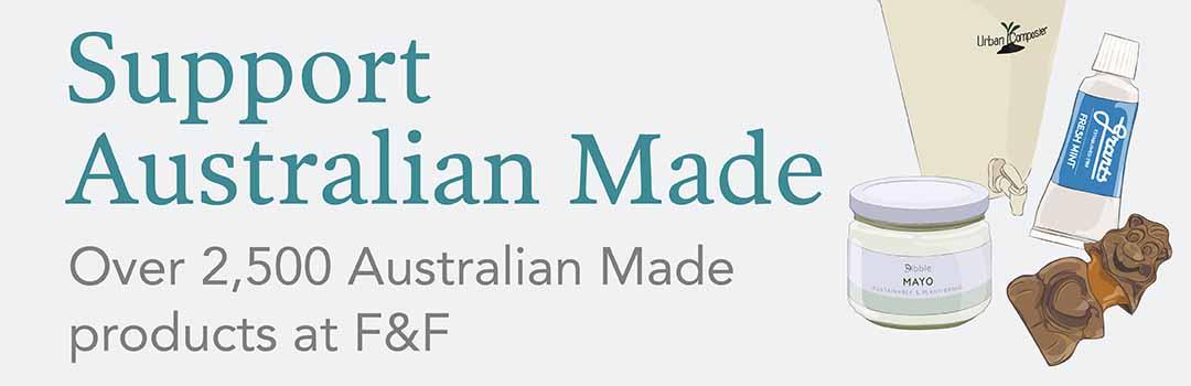 Australian Made goodies at F&F