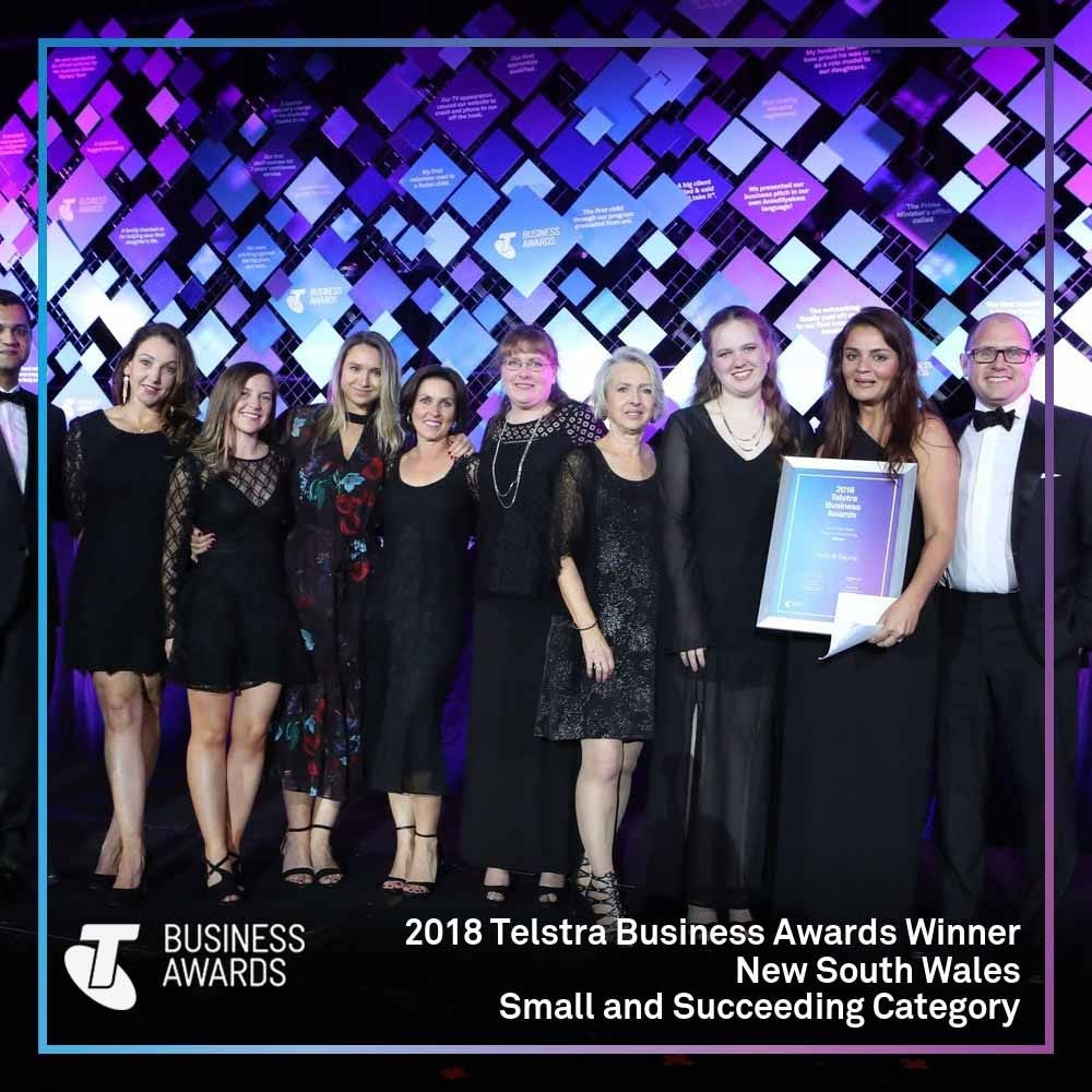 Telstra Business Award Winner