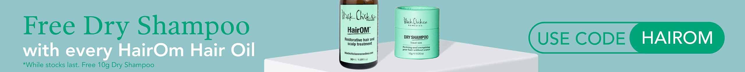 Free Black Chicken Dry Shampoo
