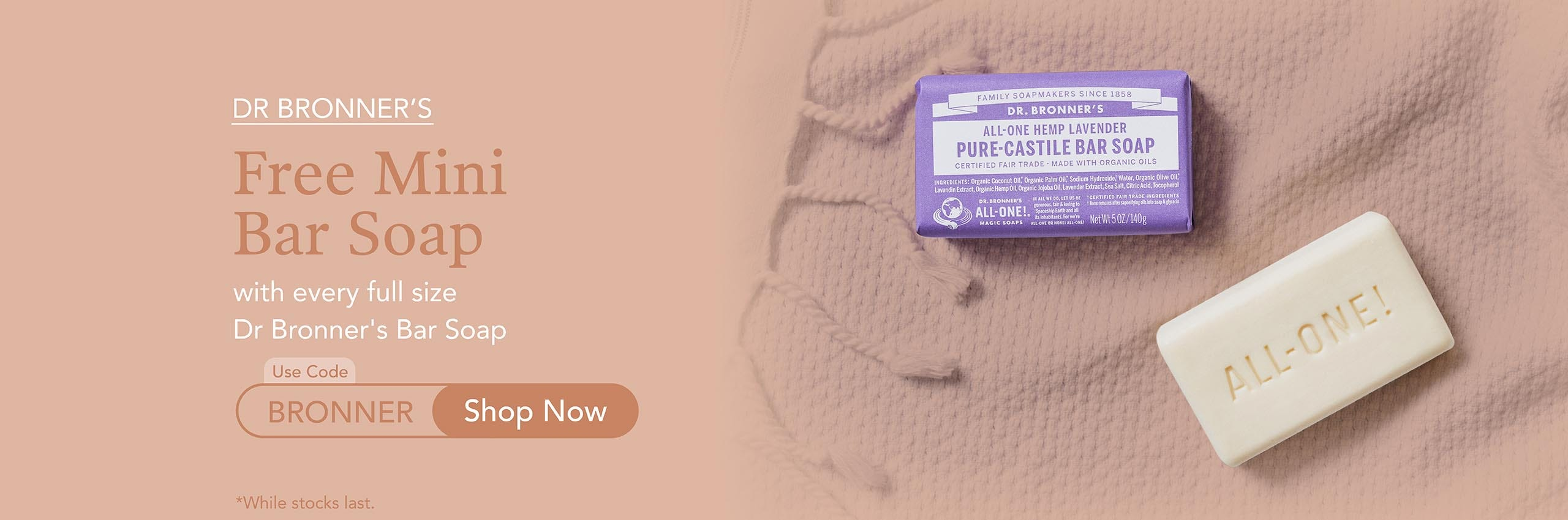 Free Gift from Dr Bronner's