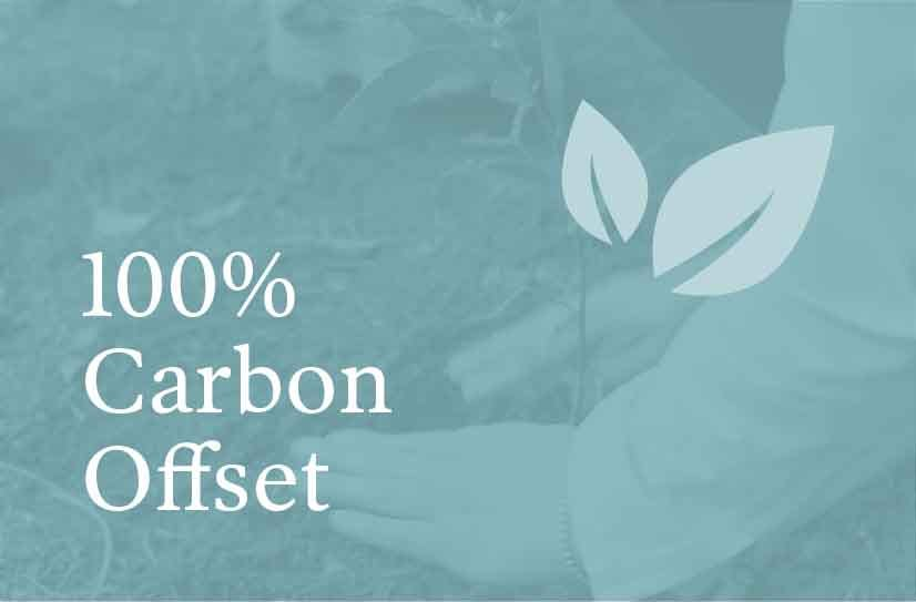Flora & Fauna is 100% Carbon Offset