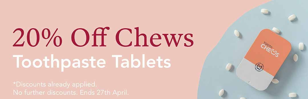 20% Off Chews