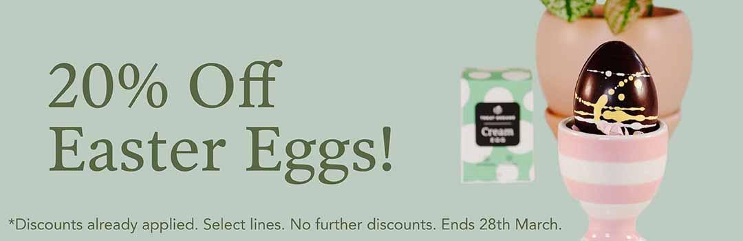 20% Off Vegan Easter Eggs