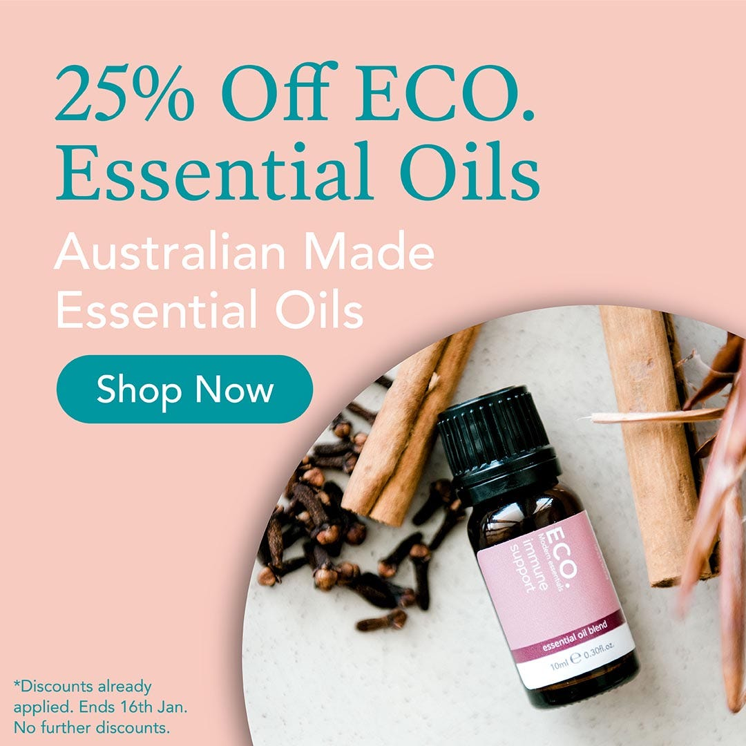 25% Off ECO Essential Oils