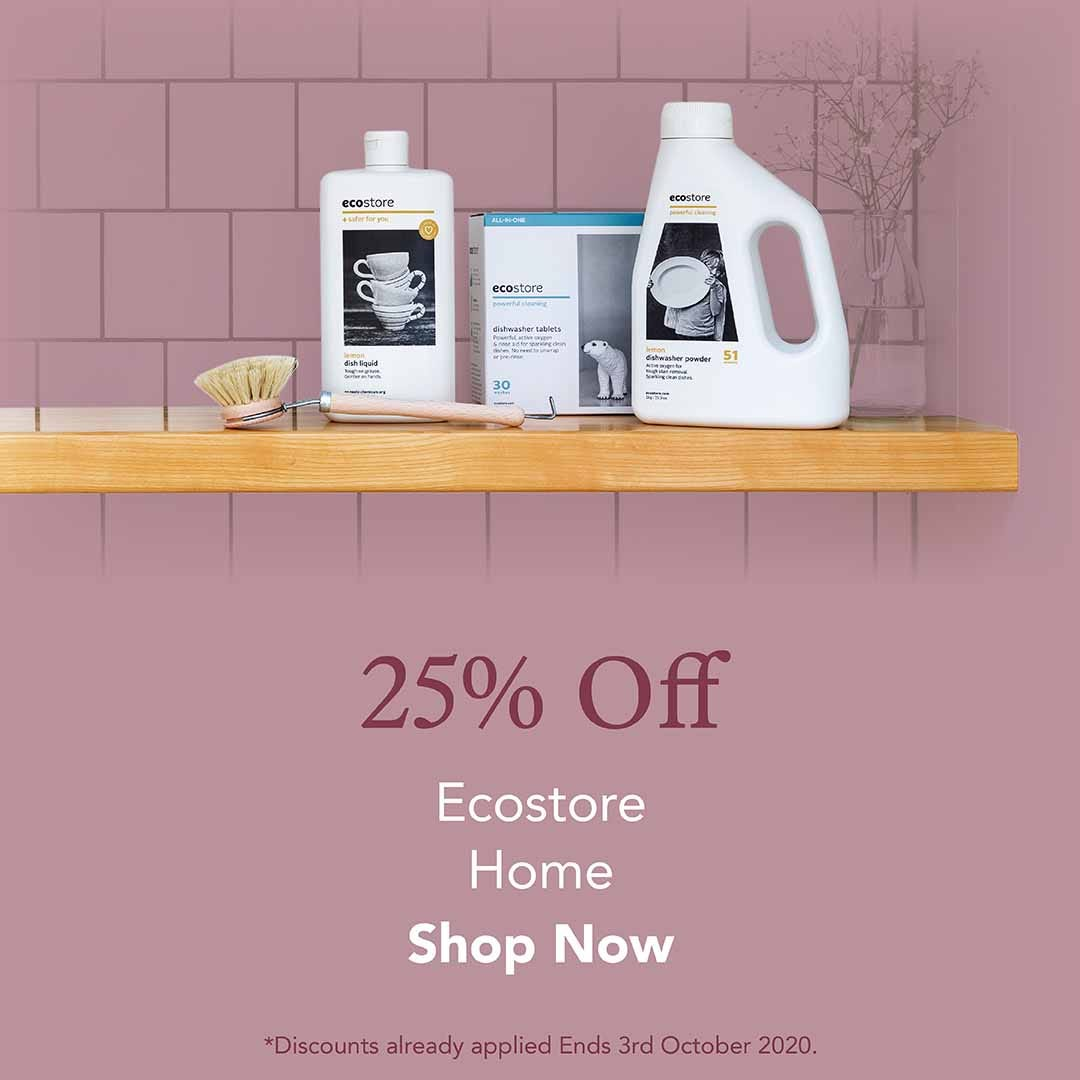 25% Off ecostore Home